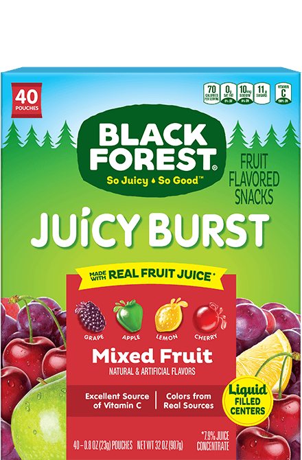 Black Forest Juicy Burst Mixed Fruit