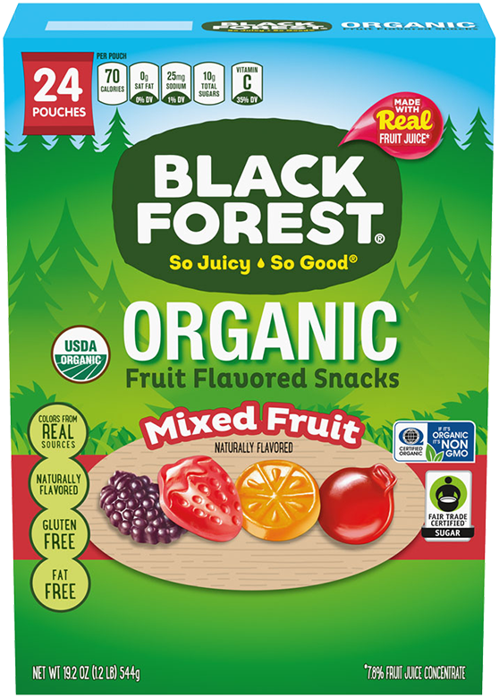 Black Forest Organic Fruit Snacks: Mixed Fruit