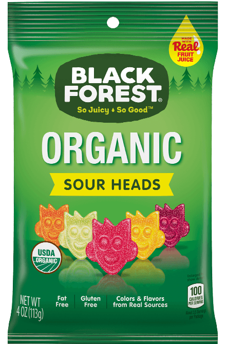 Black Forest Organic Sour Heads front