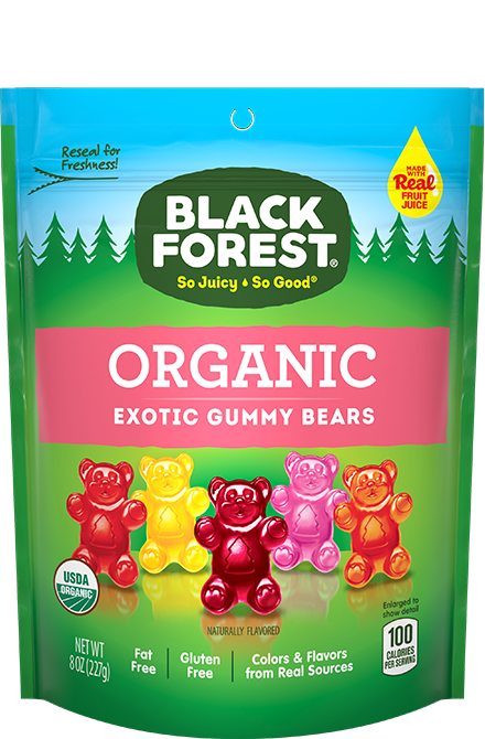Black Forest Organic Exotic Bears front