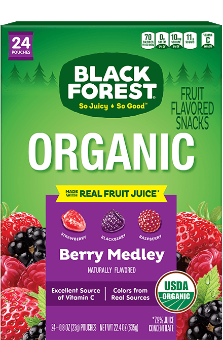 Black Forest Organic Fruit Snacks: Berry Medley