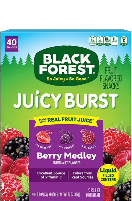 Black Forest Juicy Burst Berry Medley