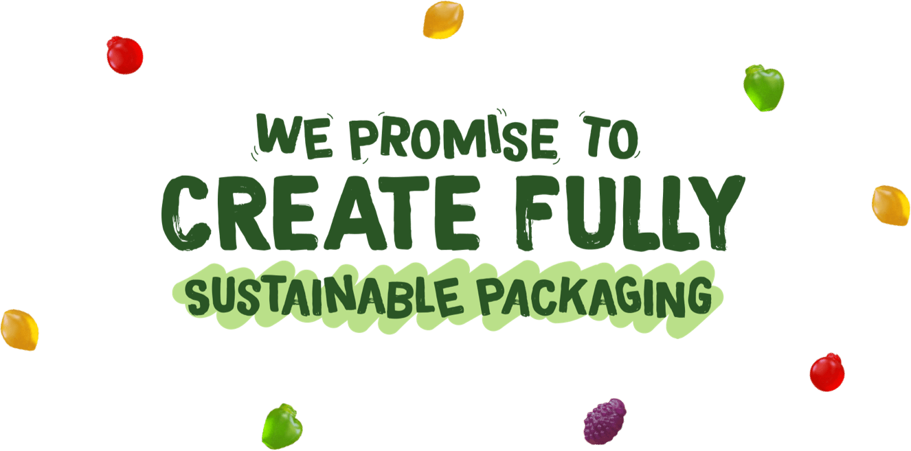 We promise to create fully sustainable packaging.